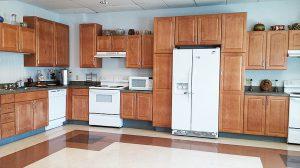 Community kitchen area - Washington Square in Painesville, Ohio