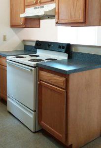 Kitchen at Woodlawn Homes