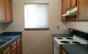 Same kitchen at Woodlawn Homes