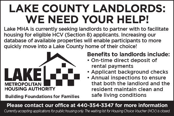 Advertisement for landlords